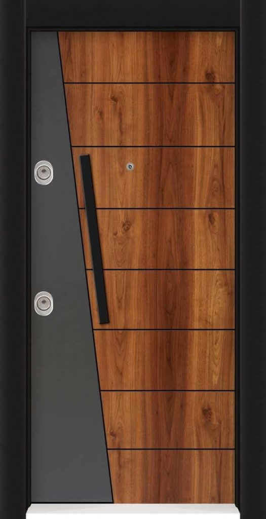 Модерна метална входна врата