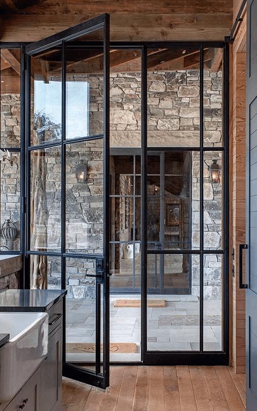 Двойни стъклени врати